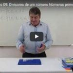 Divisores de um número Números primos