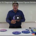 Diagonais de polígonos Figuras Estreladas