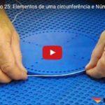 Elementos de uma circunferência e Número Pi