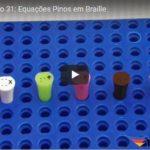 Equações Pinos em Braille