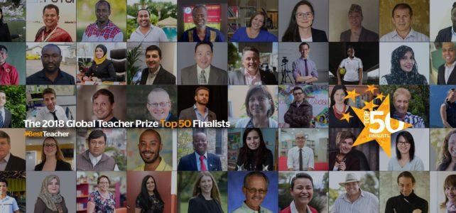 Rubens Ferronato entre os 50 finalistas do Global Teacher Prize 2018